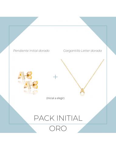 Pack Initial dorado