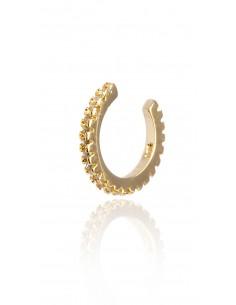 Ear cuff Nefertiti dorado